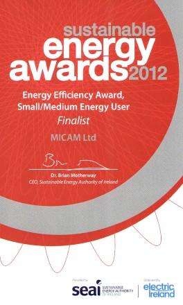 MICAM Energy Award 2012 CROPPED